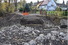 Miejsce po rozebraniu starego mostu. Fot: Tomasz Lenkiewicz